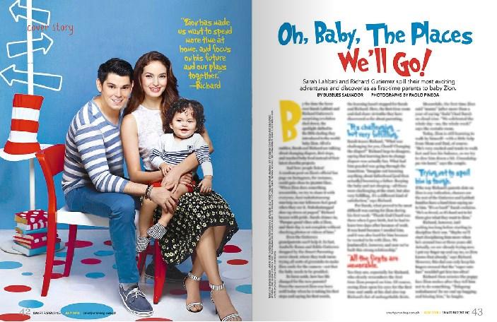 Baby-Zion-Richard-Gutierrez-and-Sarah-Lahbati-Covers-Smart-Parenting-Magazine-July-2014-Issue-1