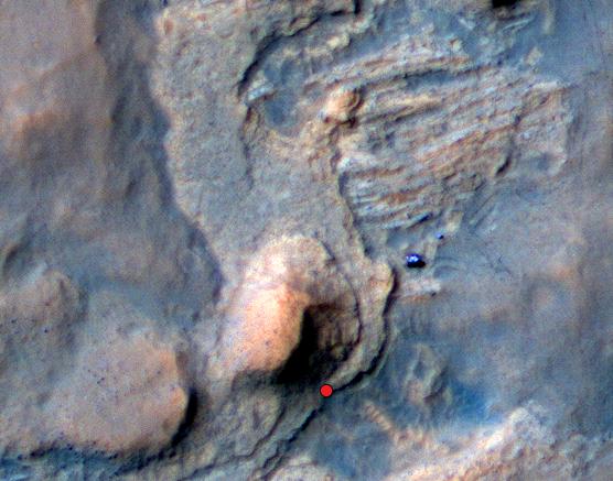 NASA's Curiosity Mars Rover Detects Clues Hinting at a ...