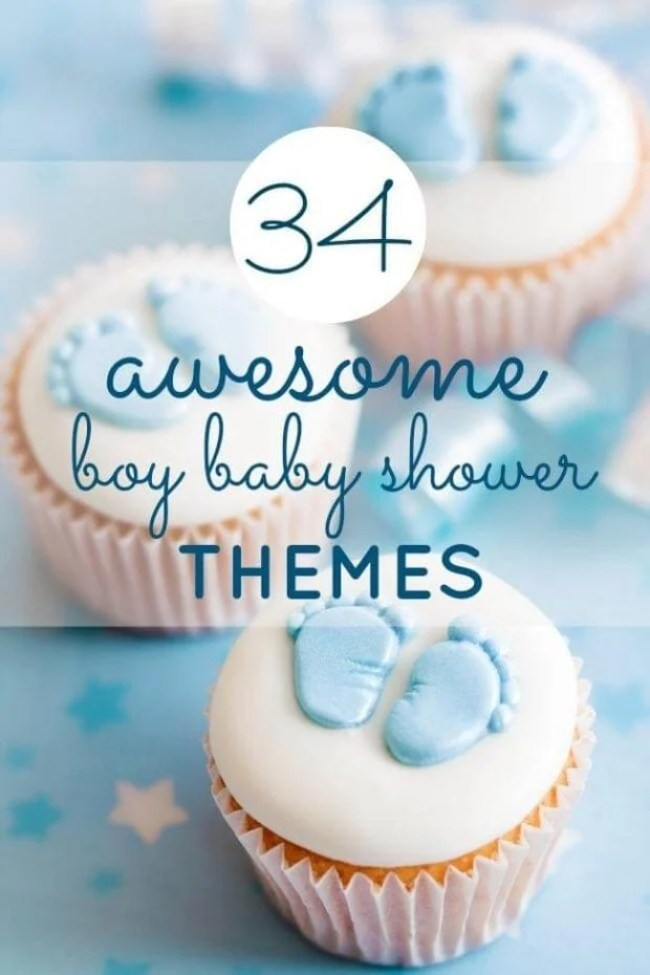Boy Baby Shower Theme Ideas