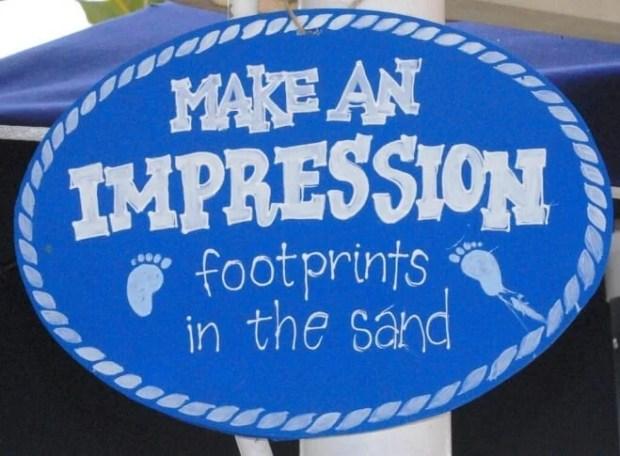 Boys Beach Themed Birthday Party Sign