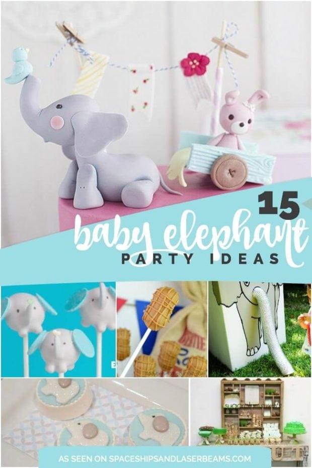 Baby elephant party ideas