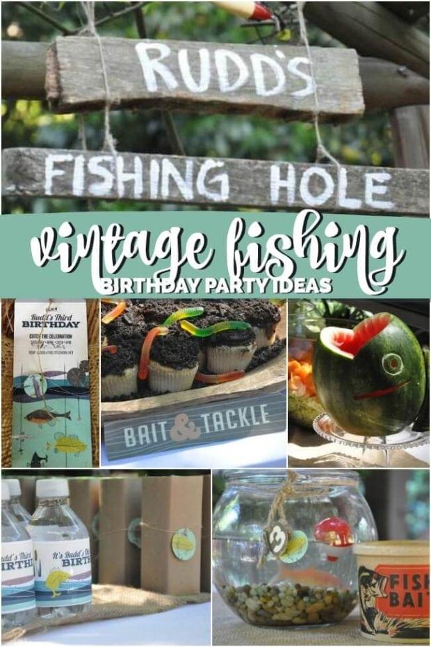 Boys Fishing Themed Birthday Party Ideas
