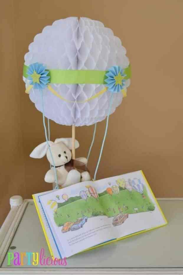 Boys Hot Air Balloon Guest Book ideas