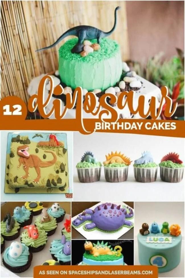 Edible Dinosaur Cake Decorations