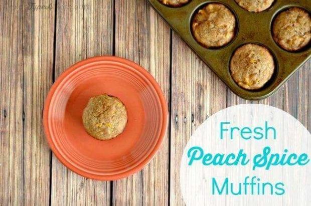 Peach Spice Muffins