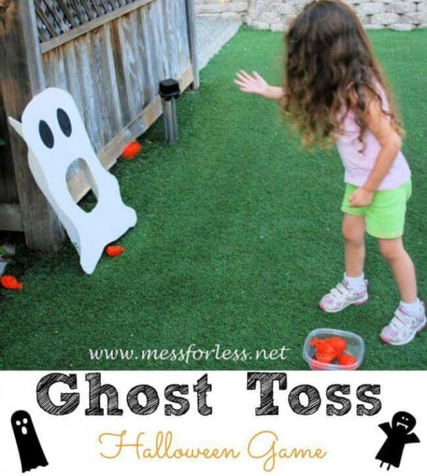 Ghost Toss Halloween Party Game