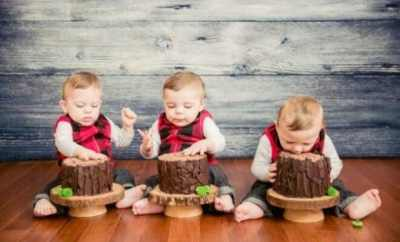 Lumberjack themed first birthday party
