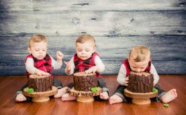 A Little Lumberjack 1st Birthday Party Spaceships And