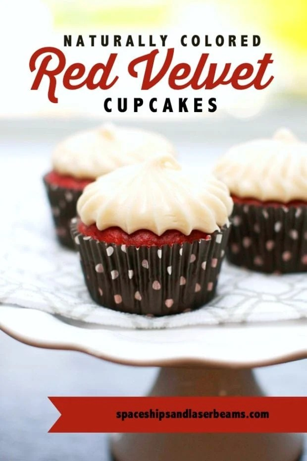 All Natural Red Velvet Cupcake Recipe Cream Cheese Icing