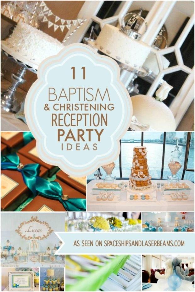 Baptism and Christening Reception Ideas