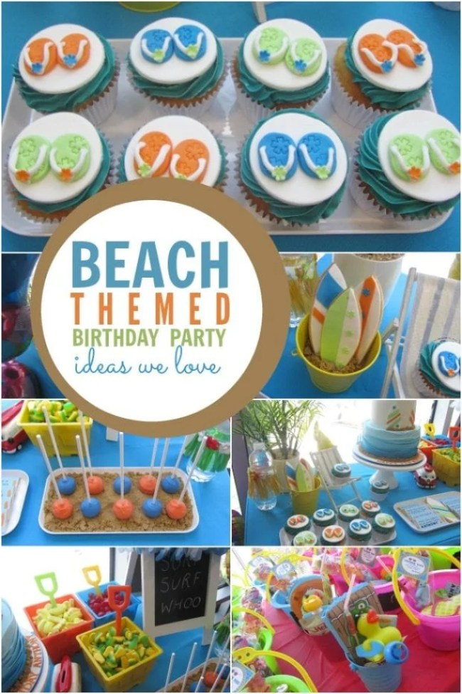 Beach Themed Birthday Party Ideas Boys