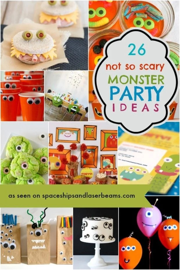 Cute Monster Party Ideas