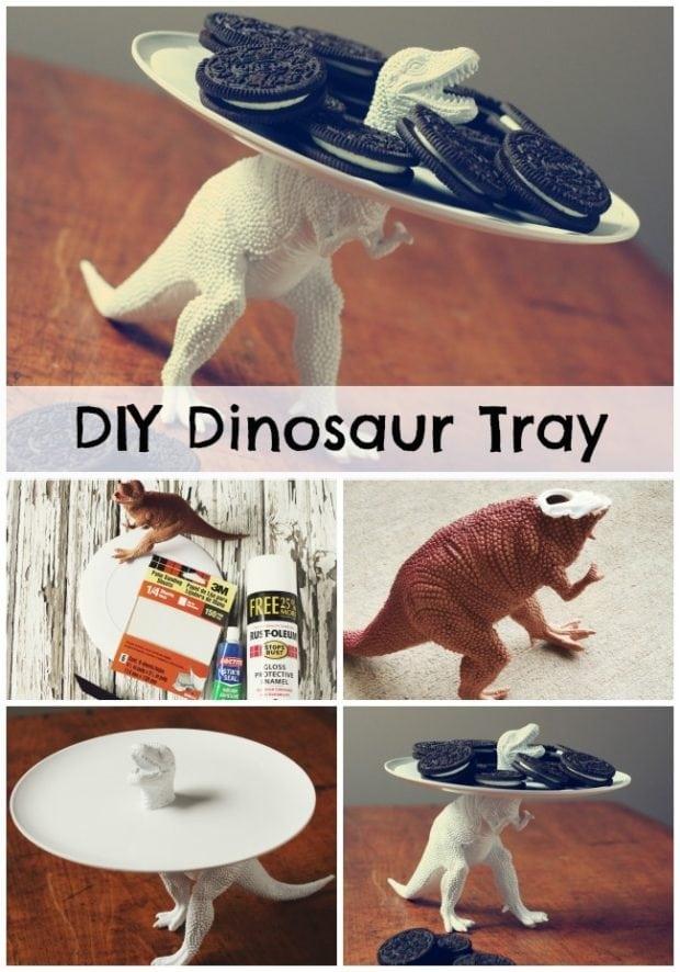 Diy Dinosaur Party Tray Spaceships And Laser Beams