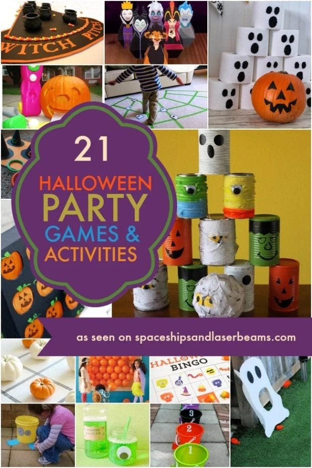 Halloween Party Games and Activities