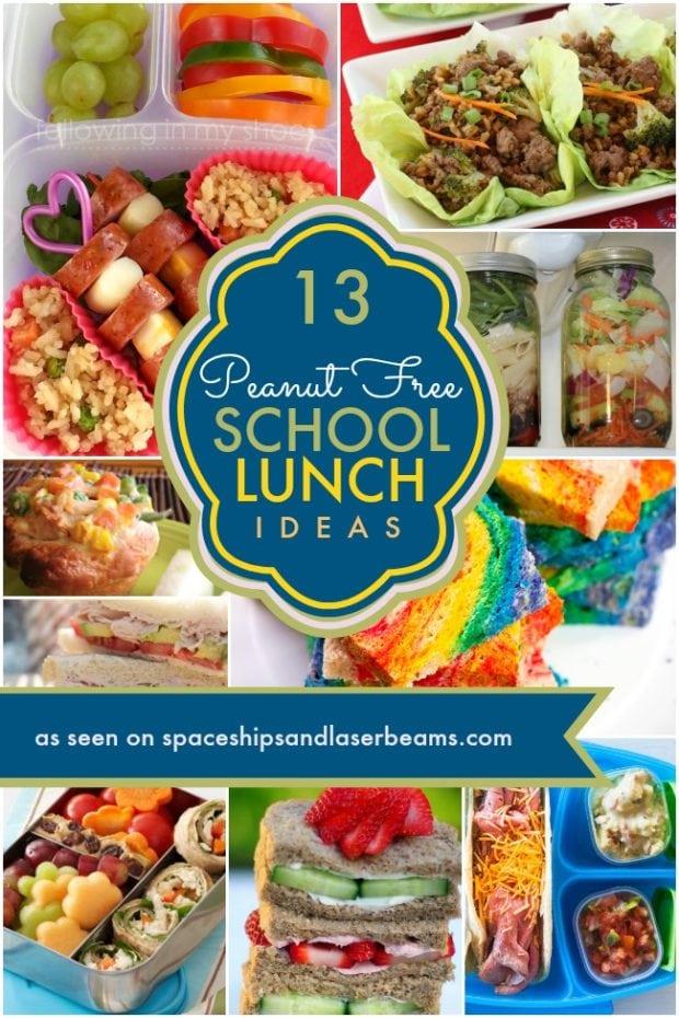 School Food Lunch Menu