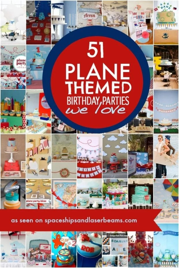 Plane themed Birthday Party
