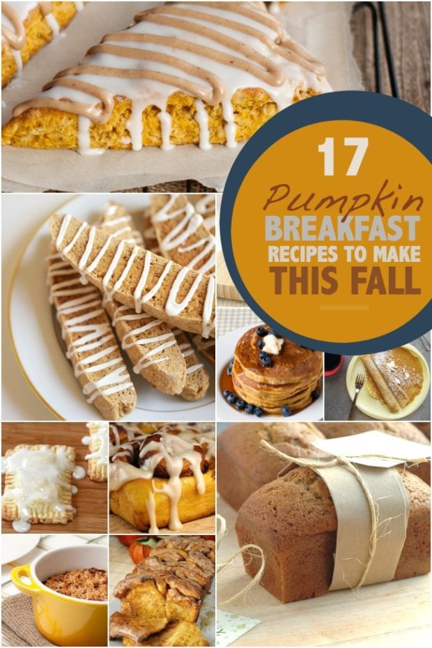 Pumpkin Breakfast Recipes
