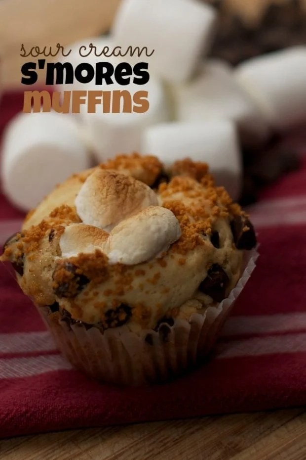 Easy S'mores Muffins Recipe You Can Bake With Your Kids