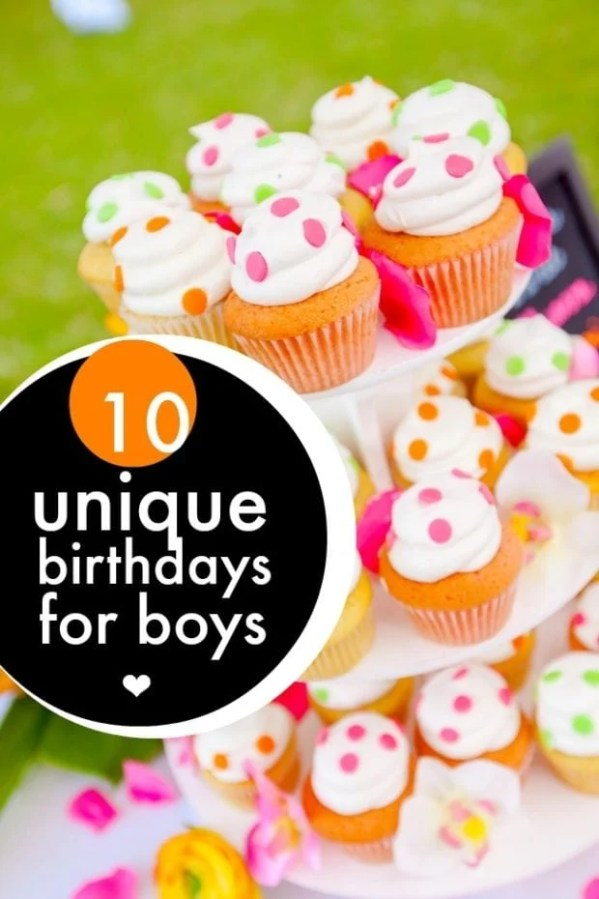 10 Unique Birthdays for Boys - Spaceships and Laser Beams