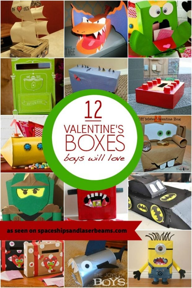 12 Valentine Boxes Boys Will Love Spaceships And Laser Beams