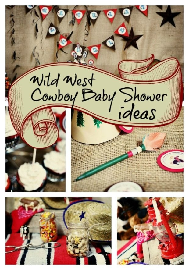Wild Wild West Baby Shower For Twin Boys Spaceships
