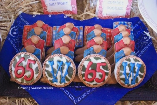 Cowboy Themed Western Party Cookie Food Ideas