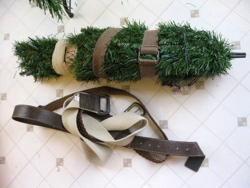 Packing Away the Christmas Tree