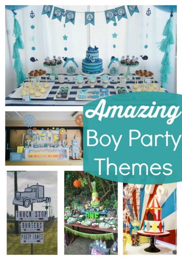 Amazing Boy Party Themes