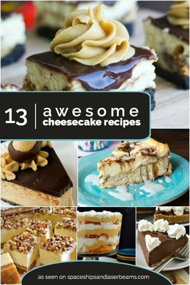 13 Awesome Cheesecake Recipes from Spaceships and Laser Beams