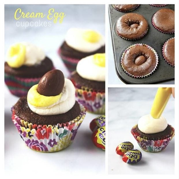 Easter Chocolate Cupcakes Easy