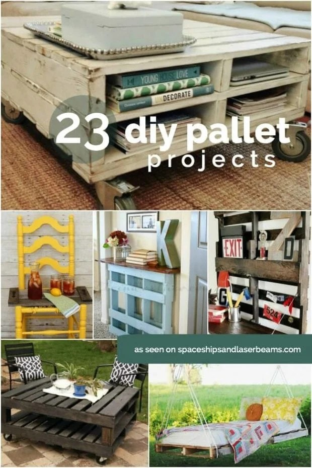 23 Awesome DIY Wood Pallet Ideas - Spaceships and Laser Beams on Pallet Design Ideas  id=63087
