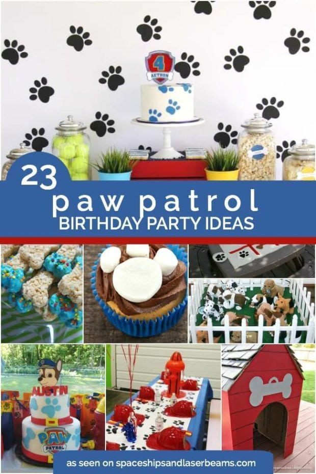 23 Paw Patrol Birthday Party Ideas Spaceships And Laser