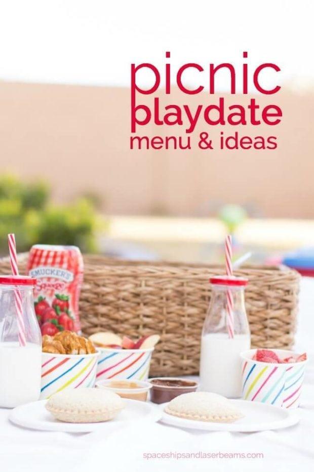 Picnic Playdate Menu & Ideas