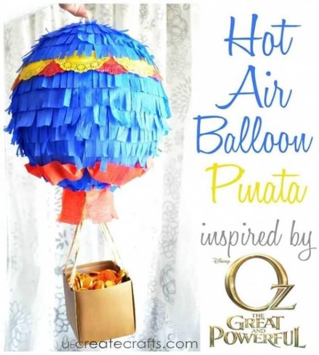 Hot Air Balloon Pinata Tutorial
