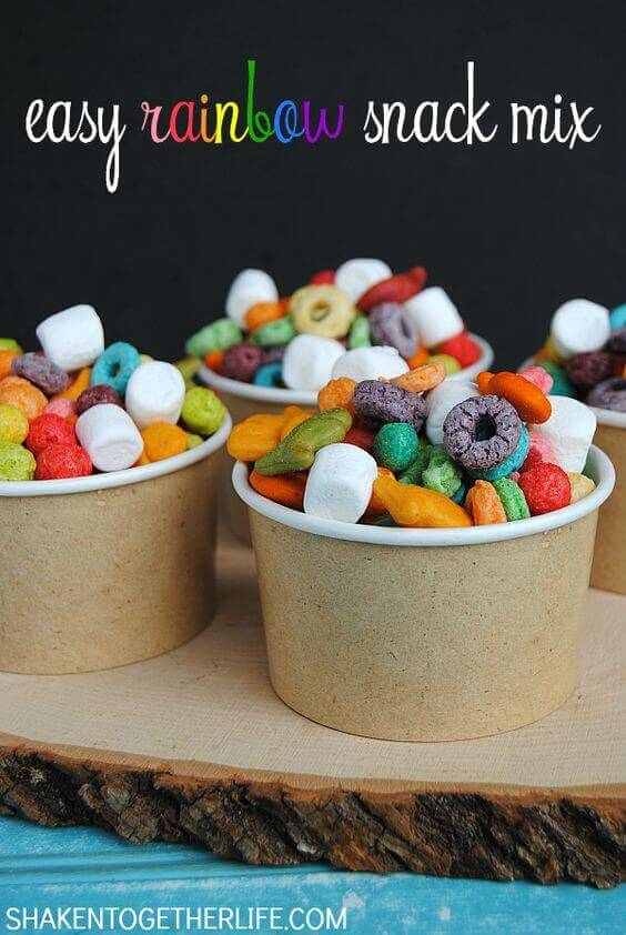 29 Colorful Rainbow Food And Drink Ideas Spaceships And