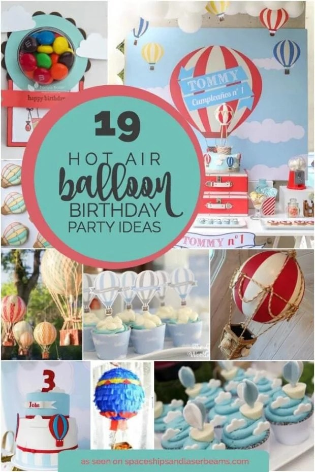 Hot Air Balloon Party Ideas