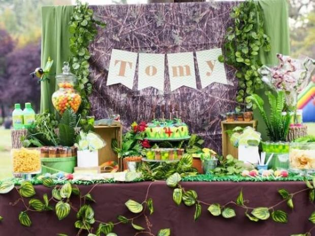 Boy's Crocodile & Insects Birthday Party Ideas