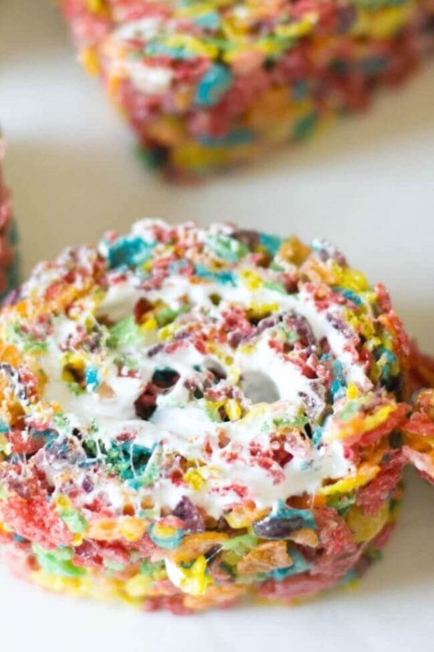 Rainbow Roll Cookies