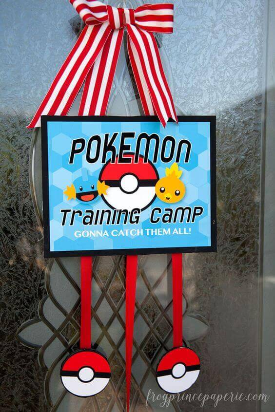 Pokemon Training Camp