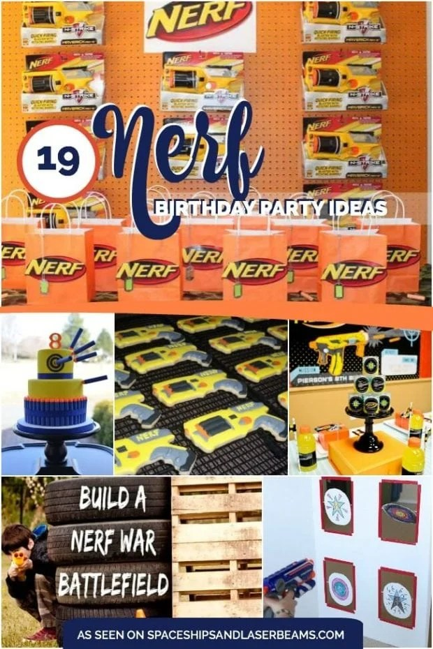 19 incredible nerf birthday party ideas