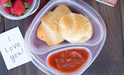 Kid's Lunch Ideas: Make Ahead Pizza Rolls