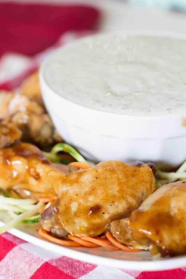 Chicken Wings in Slow Cooker