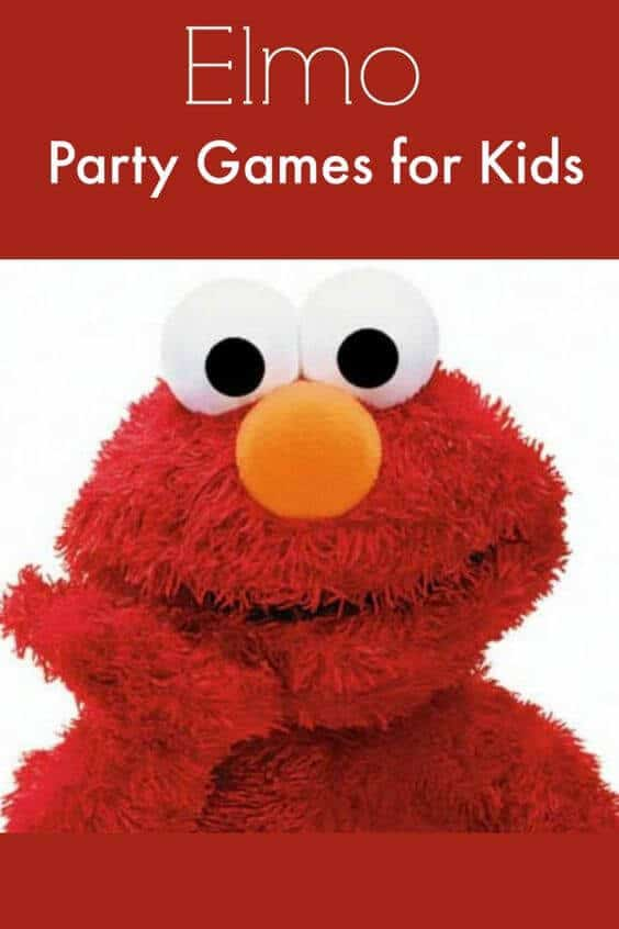 Elmo Party Games for kids