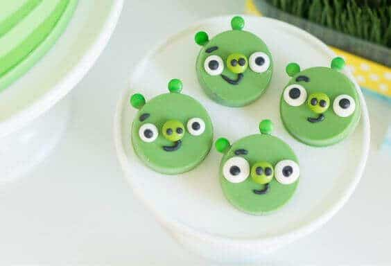 Angry Birds Pig Cookies