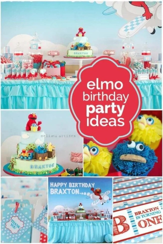 21 Fabulous Elmo Birthday Party Ideas Carousel Kid S