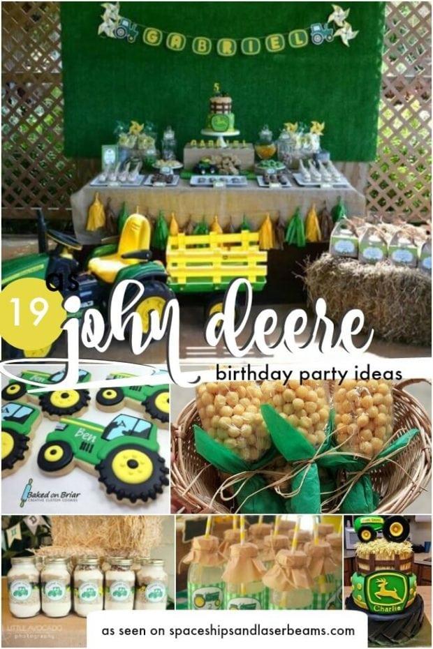 19 john deere tractor party ideas