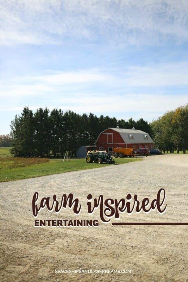 Farm Inspired Entertaining