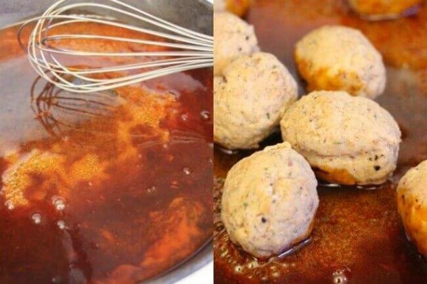 Buffalo Sauce for Meatballs
