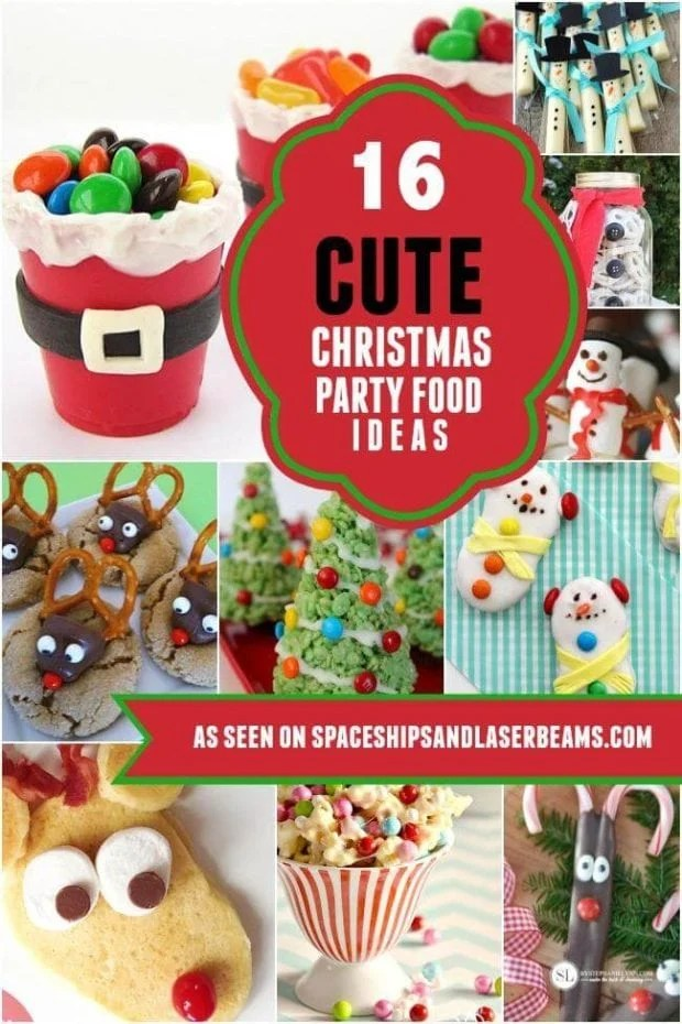16 Cute Christmas Party Food Ideas for Kids