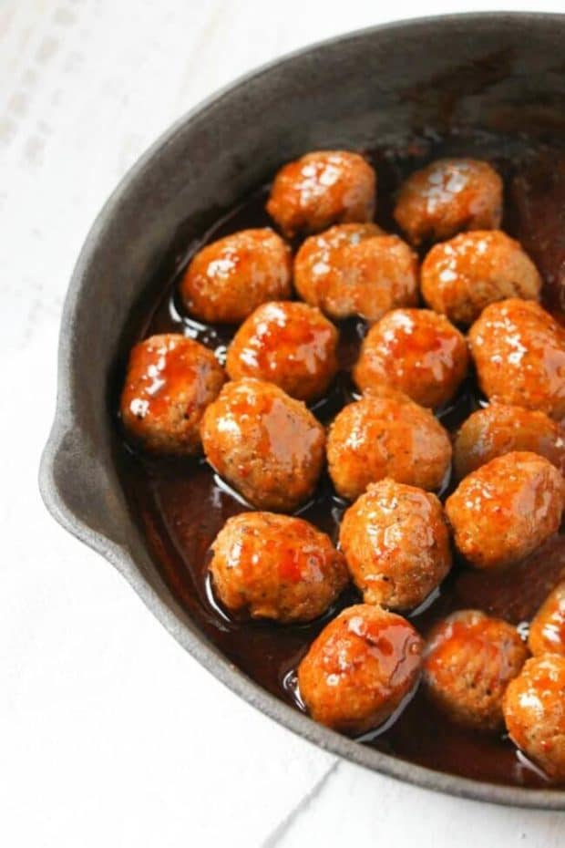 Easy Recipe for Buffalo Meatballs